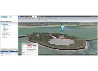 SkylineGlobe 3D Web Application Draw Tab (Marker)